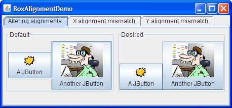 Customizing alignment