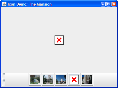 An example of MissingIcon.