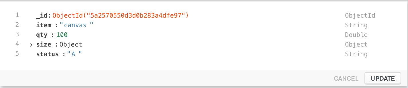 Document edit mode