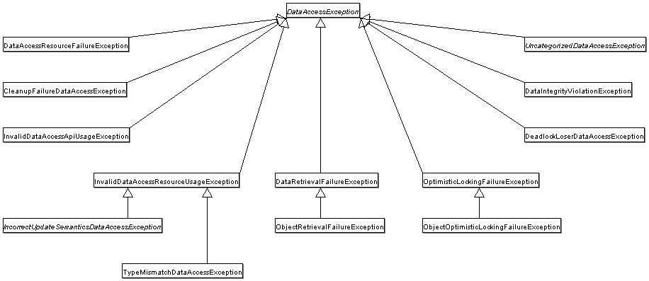 DataAccessException